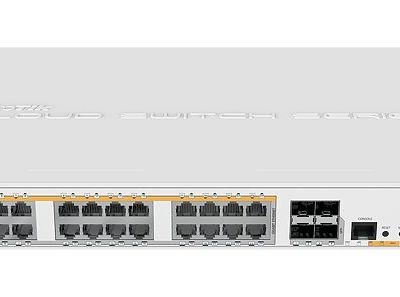 MikroTik Cloud Router Switch CRS328-24P-4S+RM