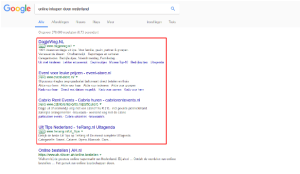 adverteren in adwords
