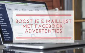Boost je maillijst met Facebook-advertenties