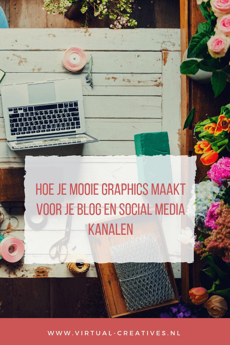 Maak mooie graphics voor je blog of social media kanalen
