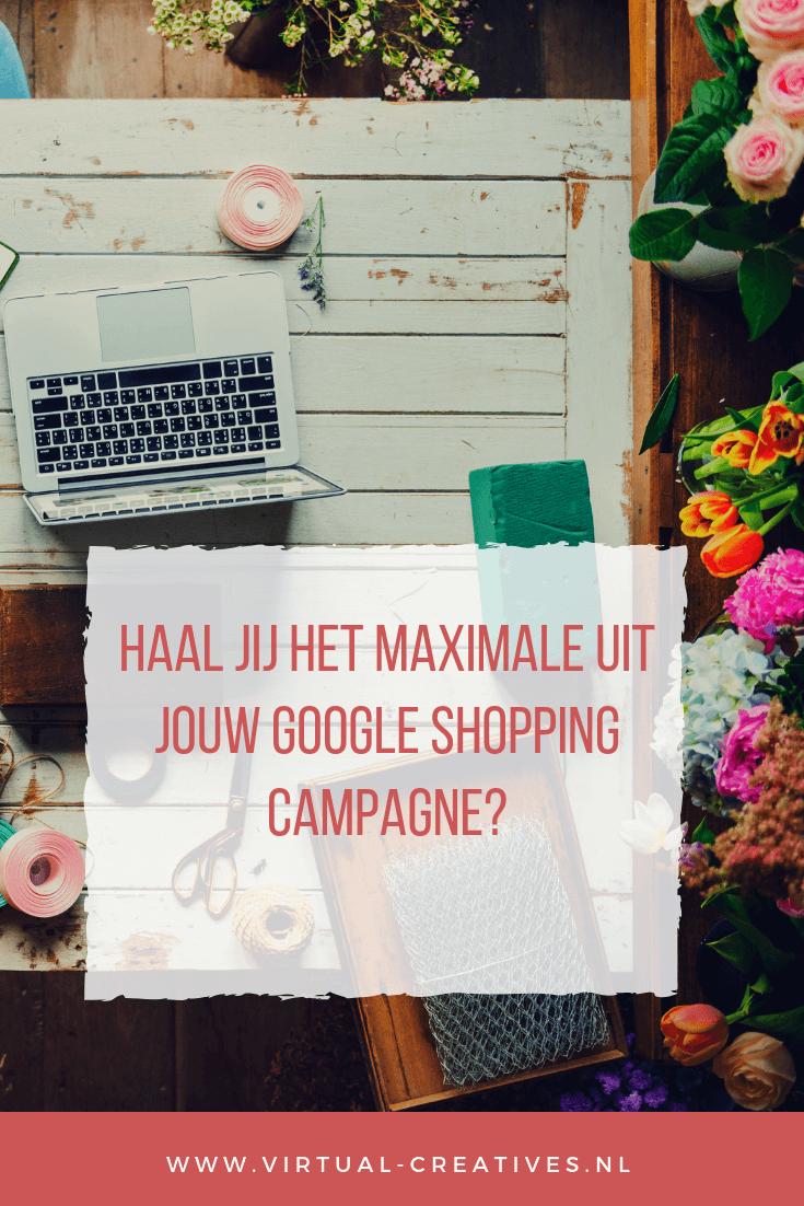 Hoe Haal je het maximale uit google shopping