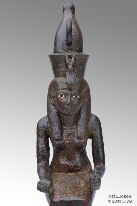 Virtual Egyptian Queen Hatshepsut As Goddess Mut Dyn 18