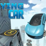 Futuristic Flying Car (Gear VR)