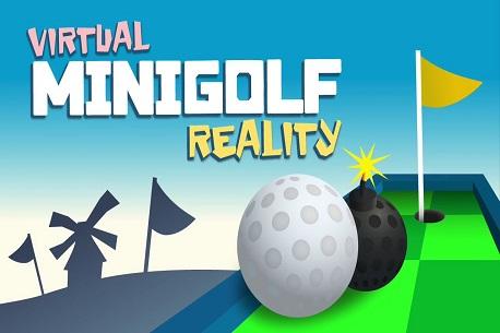 virtual MINIGOLF reality (Google Daydream)
