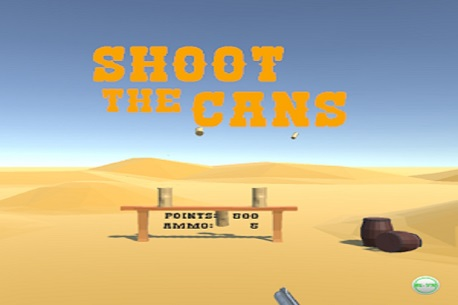 Shoot the Cans (Google Daydream)