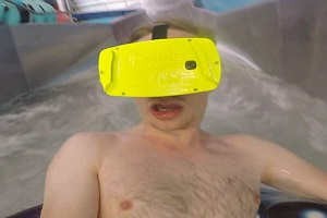 Forget Rollercoasters! Now Waterslide Come With Virtual Reality!