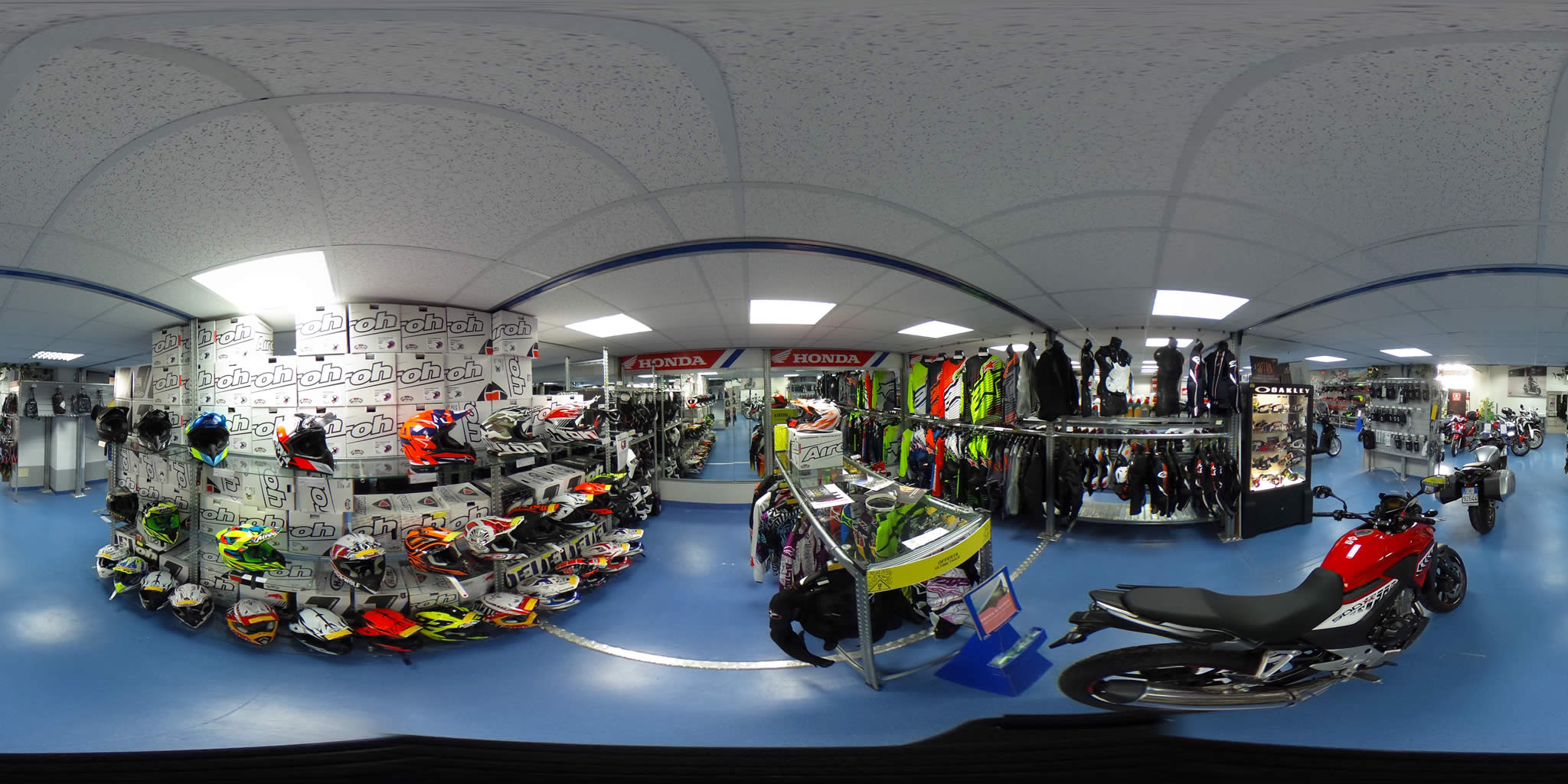 virtual tour show room