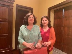 Carmen de la Guardia (izquierda) y Elena Sánchez de Madariaga