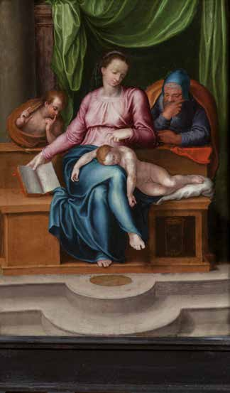 DELL'ANTICA E BELLA PITTURADipinti dal XV al XIX secolo.
