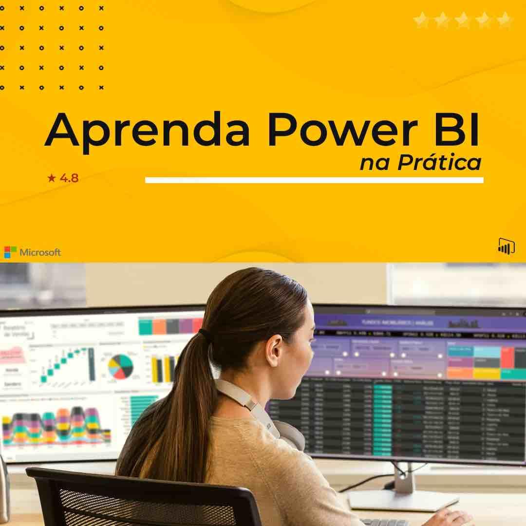 Curso Power BI Expert na Prática é bom e vale a pena. Confira a nota de avaliação.