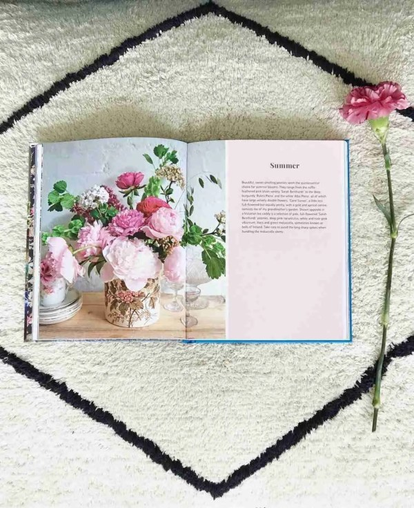 Book review Flower Market Michelle Mason Roomy Home pages