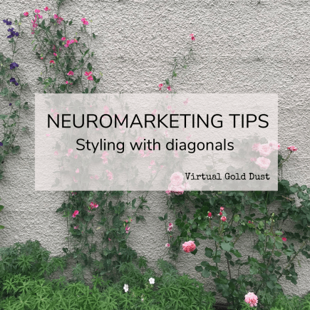 neuromarketing styling diagonals