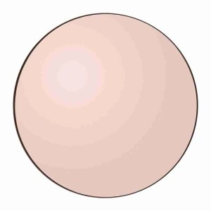 aytm amara circum round mirror rose gold circular mirror