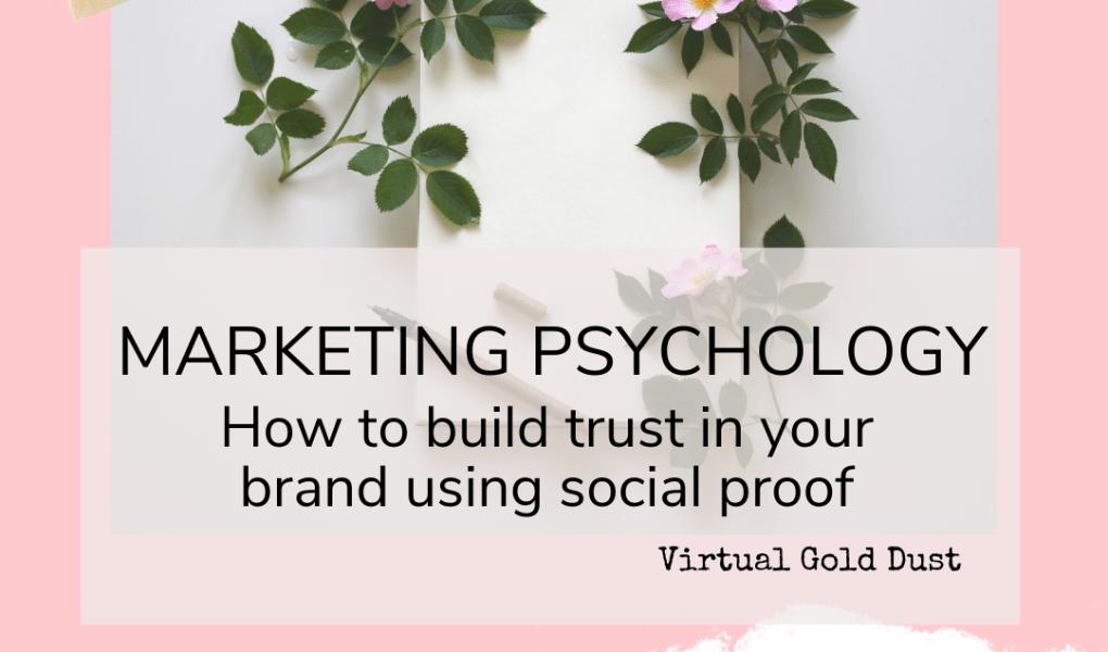 social proof trust marketing psychology