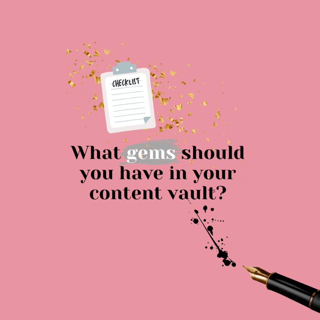 Content marketing checklist free