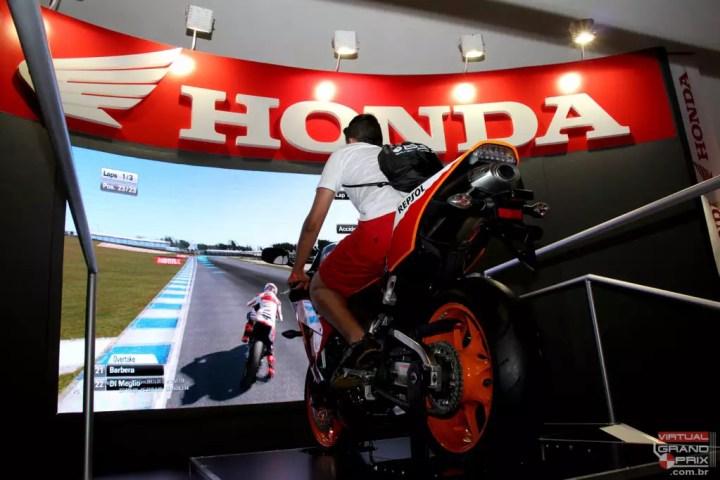 Simulador Repsol Honda Brasil Game Show