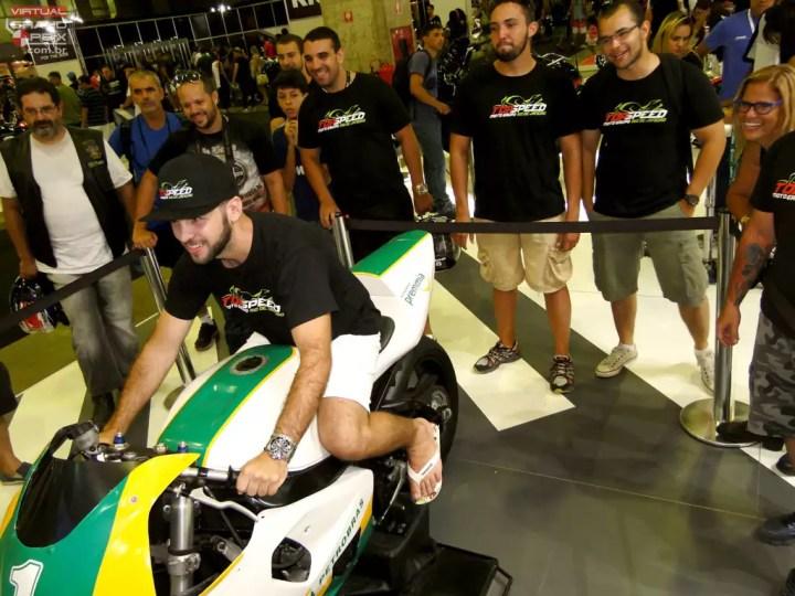 Simulador de Motovelocidade 1000cc