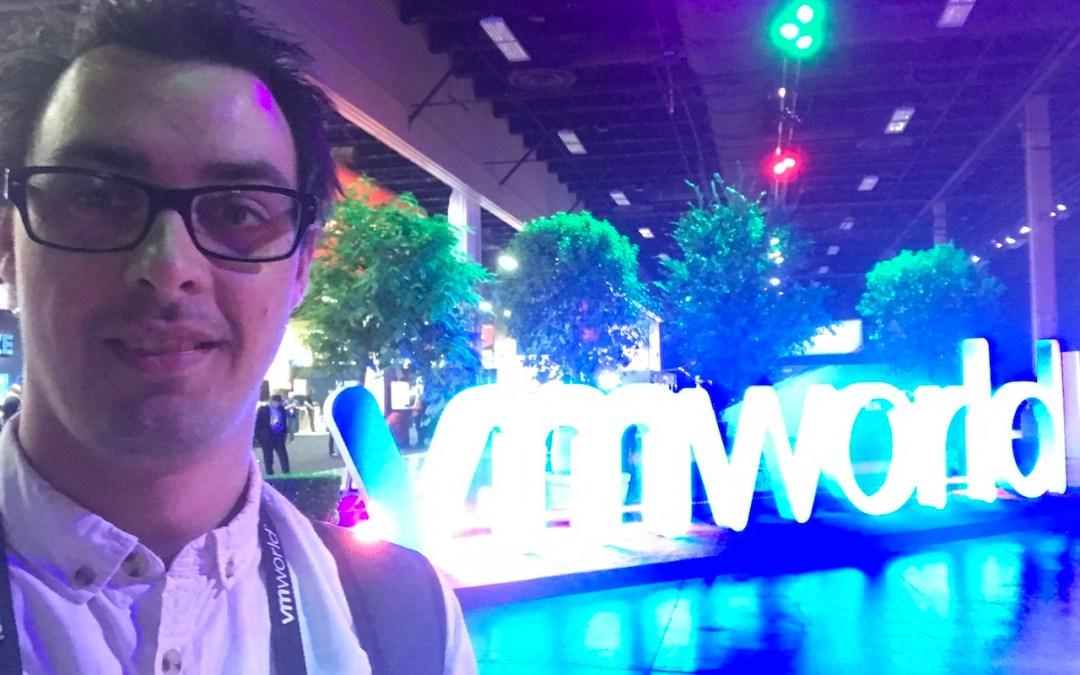 Sunday of VMWorld US 2017 & General Session