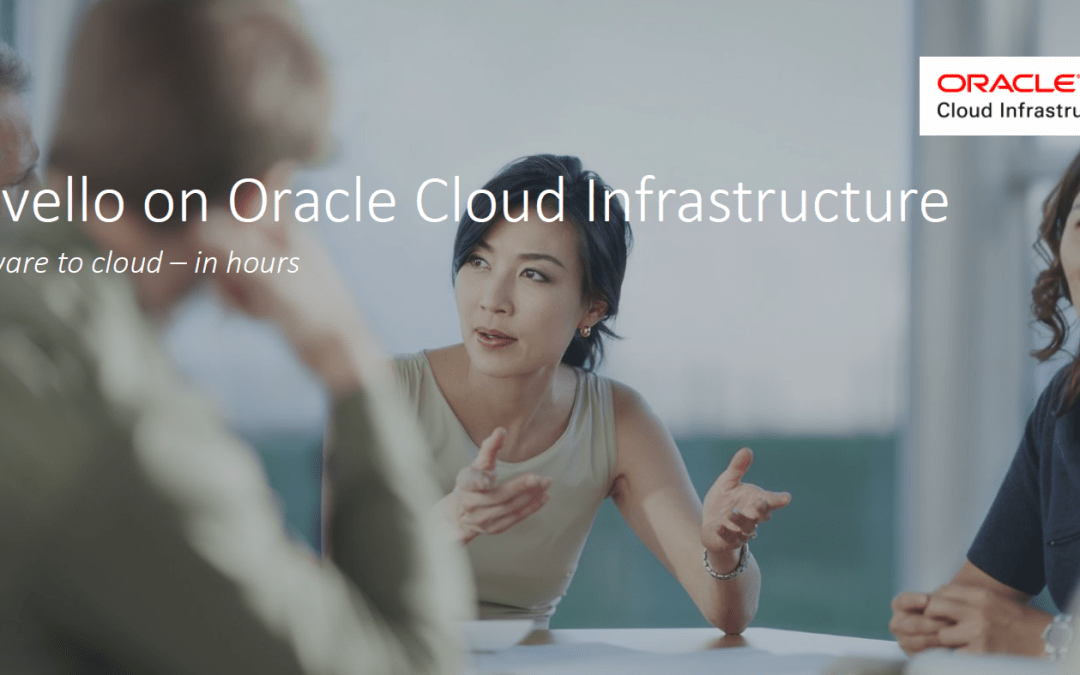 Ravello on Oracle Cloud Infrastructure, times are a changing