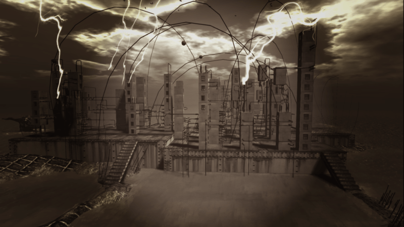 """Future"", Art Installation in Second Life® by Cica Ghost"