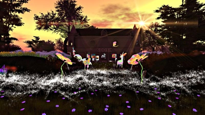 Soosh art gallery in Second Life®