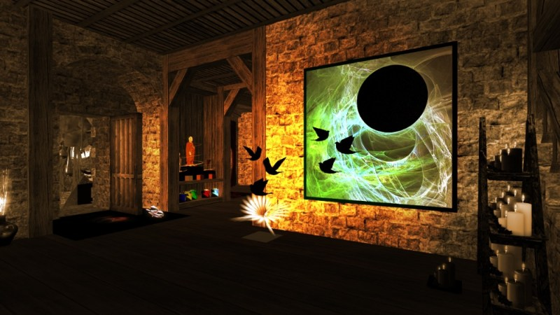 """Lawst Paradise Art Gallery"" in Second Life®"