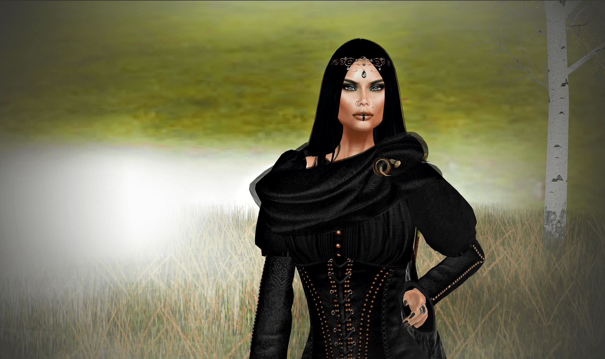 """""""Epica"""" the theatrical show of """"Clouds Fallen"""" in Second Life®"""