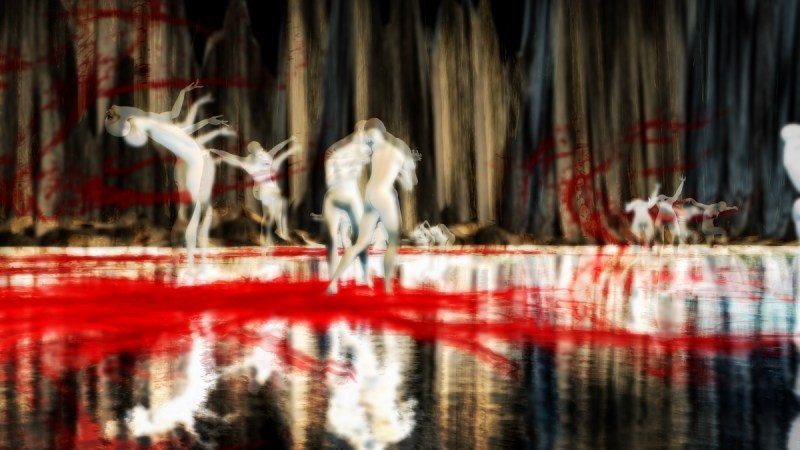 """Choreography of a tortured soul"" by Theda Tammas in Second Life®"