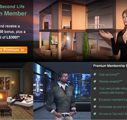 SecondLife Premium Benefits
