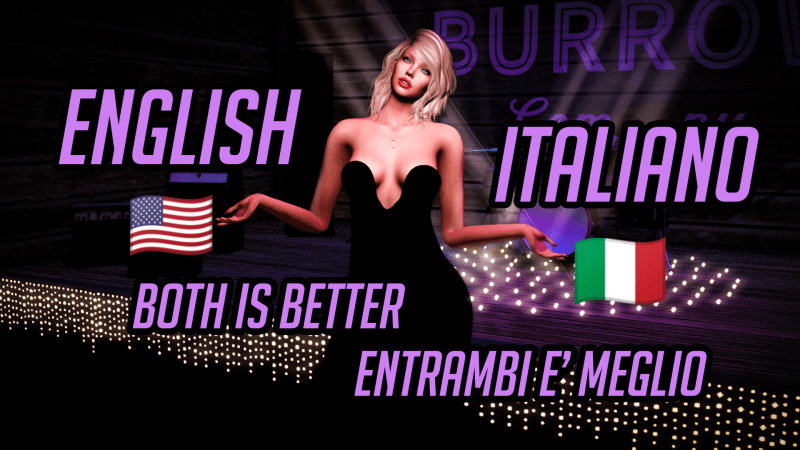 🇺🇸 🇮🇹 𝗘𝗻𝗴𝗹𝗶𝘀𝗵 or 𝗜𝘁𝗮𝗹𝗶𝗮𝗻𝗼 for YouTube videos? 𝐵𝑜𝑡ℎ 𝑏𝑒𝑡𝑡𝑒𝑟! 🇺🇸 🇮🇹