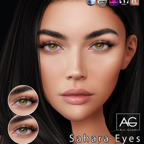 Sahara Eyes Gift: Avi-Glam for SL17B