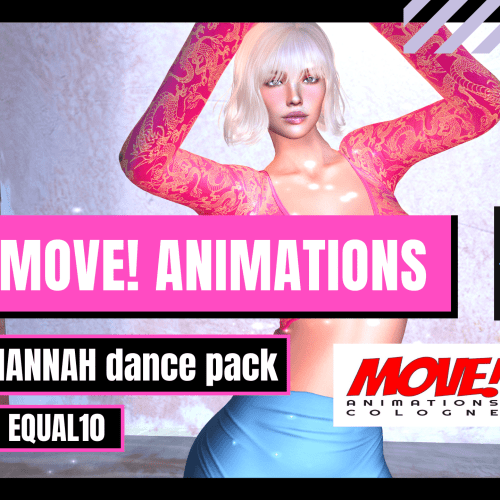 MOVE! HANNAH SMOOTH PRE 🎥 💄equal10 Second Life