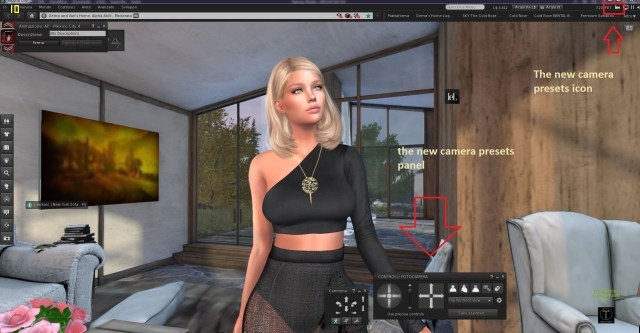 The latest news about the Camera Controls in the Second Life Official Viewer