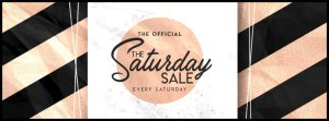 The Saturday Sale