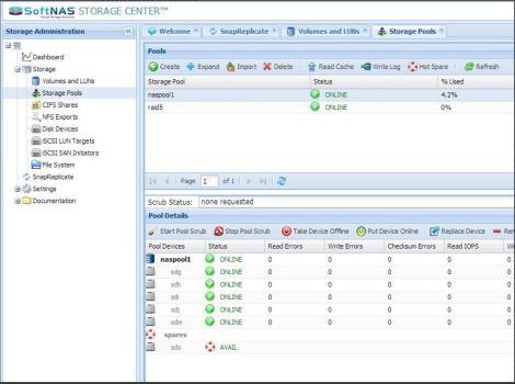 SoftNAS CIFS & NFS for VMware Virtual SAN