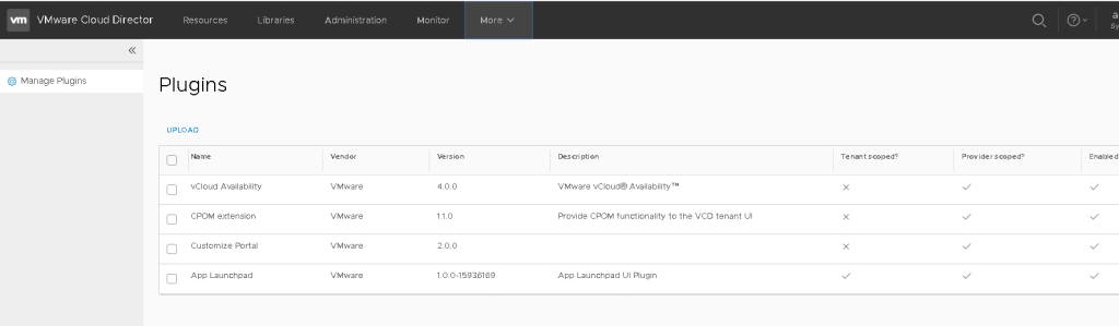 Install Container Service Extension in VMware Cloud Director