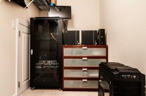 Home Lab Closet