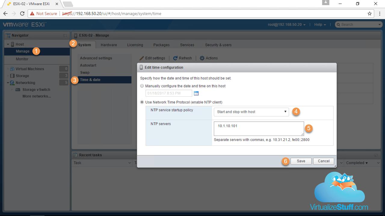 How to Configure a vSphere 6 5 Host - Part1 - VirtualizeStuff