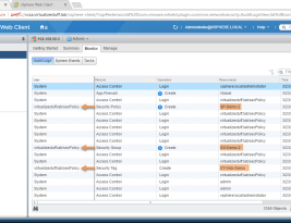 Tracking Change in PowerNSX