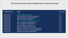 How to Edit Security Policies & Apply them to Security Groups with PowerNSX