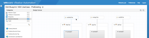 nsx security groups in vra