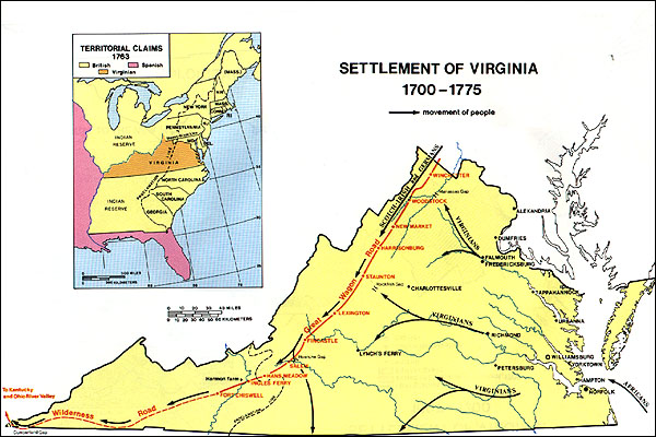 Virginia County Map - West virginia county map