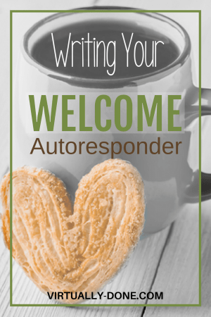 welcome autoresponder, welcome email, initial follow up, follow up messages, automated messages, first email, setting expectations