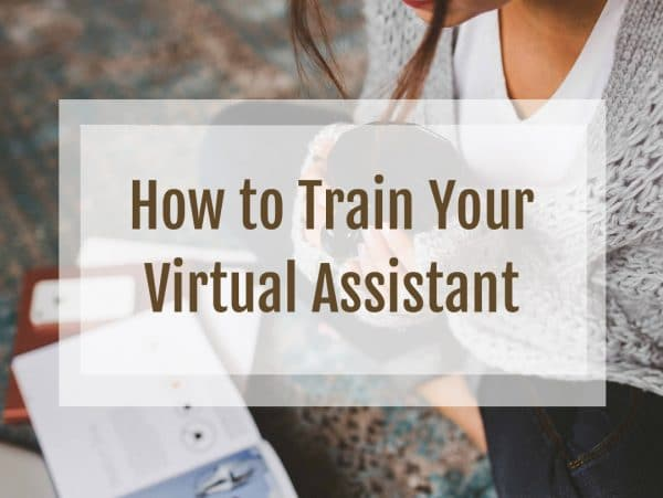 How to Train Your Virtual Assistant