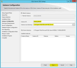 10 Instance Configuration