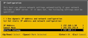 18 Default Gateway