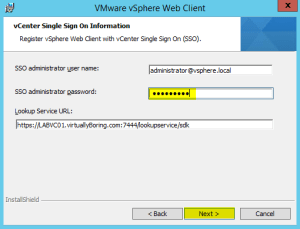 18 Web Client Enter SSO Password
