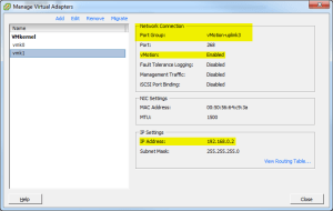 Manage Virtual Adapters