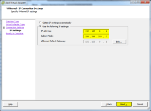 Virtual Adapter IP