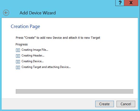 5 Create Virtual Disk